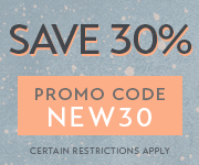Save 30% with promo code NEW30